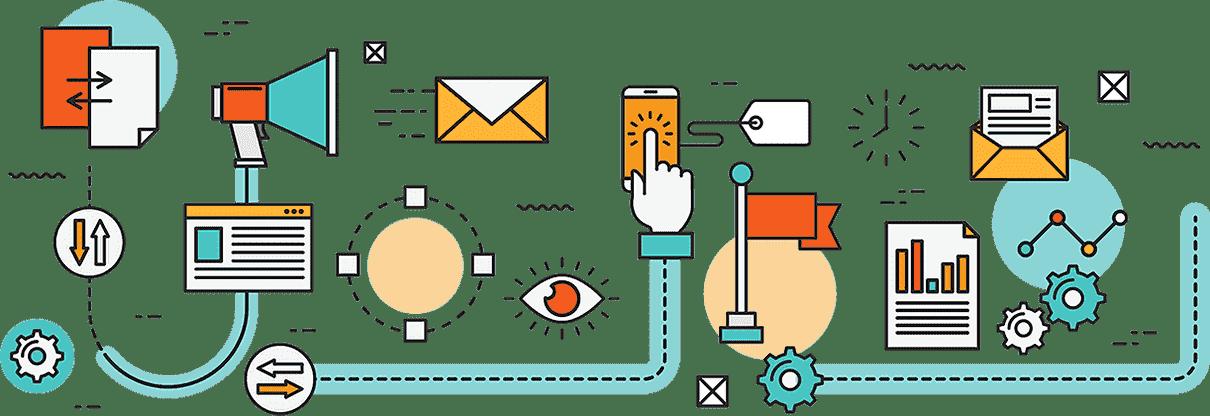 Развиваме се професионално в онлайн пространството, поради което предлагаме пълен пакет от онлайн услуги - изработка на уеб сайт, електронен магазин, SEO.