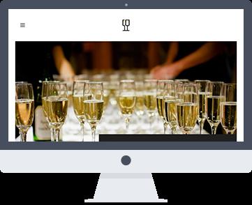 Уеб сайт Elitecateringserviceslondon.com - премиум кетъринг услуги във Великобритания. Изработка на сайт и поддръжка от SEVEN.BG